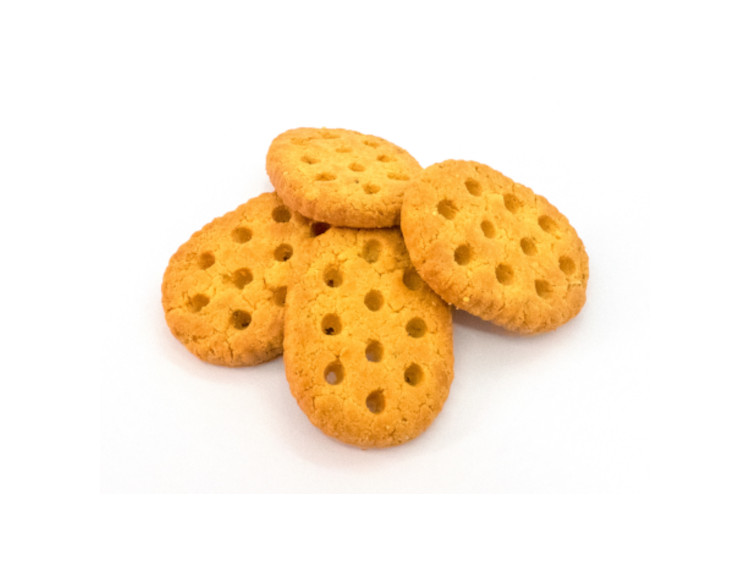 Biscuit salé protéiné